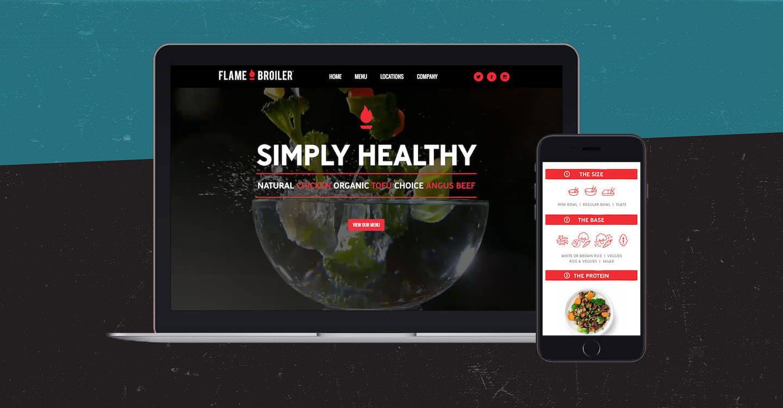 Flame Broiler - Simply Healthy Branding - Gigasavvy Blog